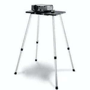 Beamertafel Projecta Telemaster 1, blad 65×45, hoogte 80-140cm