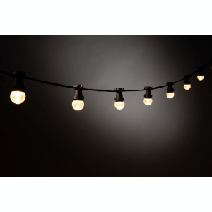 Prikkabel, 10 meter incl 19x warm witte DIMBARE heldere 2 watt Led lampjes
